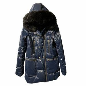 Used Juicy Couture Navy Winter Jacket